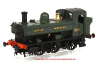 1321 Heljan 1366 Steam Locomotive number 1369 in GWR Green livery with Great Western lettering