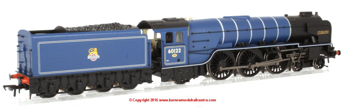 "32-561 Bachmann Class A1 Steam Locomotive number 60122 named ""Curlew"" in BR Express Blue livery with Early Emblem"