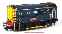 "R3485 Hornby Class 08 Diesel Shunter number 08 644 named ""Laira Diesel Depot"" in BR Blue livery"