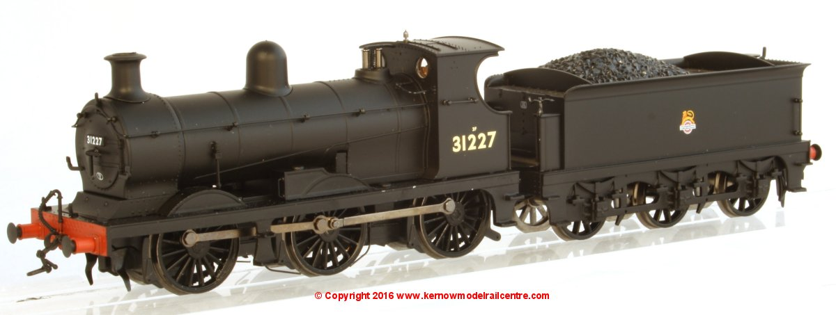 31-462A Bachmann C Class 0-6-0 Steam Locomotive number 31227 in BR Black livery with Early Emblem