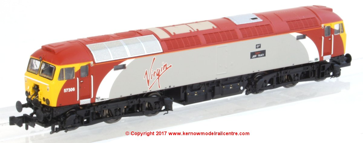 371-650A Graham Farish Class 57 Virgin Image