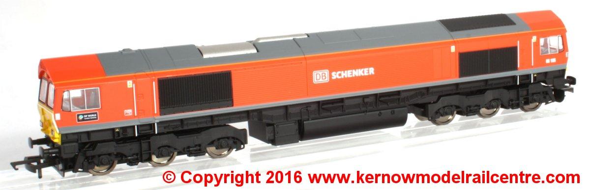 R3486 Hornby Class 66 DB Shenker Image