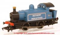 R3359 Hornby Railroad Ex-GWR 0-4-0 Steam Locomotive number 391 - Rothery Industrial 101 Class