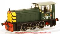 2523 Heljan Class 05 Diesel Shunter number 88 in BR Green Departmental livery