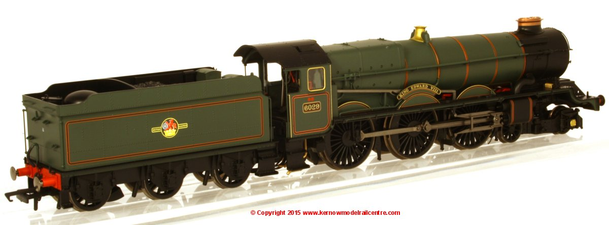 R3332 Hornby King Class Steam Locomotive number 6029 named