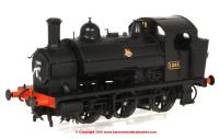 1303 Heljan 1361 Steam Locomotive number 1365 in BR Black livery with early emblem