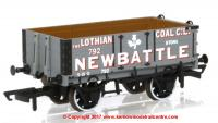 76MW4005 Oxford Rail 4 Plank Open Wagon number 792 - Lothian Coal