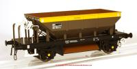4378 Heljan Dogfish Ballast Hopper Wagon ZFV number DB993116 in BR Civil Engineers Dutch livery