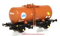 1110 Heljan 4 Wheel B Tank Wagon number UM205 in United Molasses livery