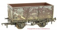 37-450B Bachmann 16 Ton Slope Side Mineral Wagon No. B11678 in BR Grey livery with weathered finish