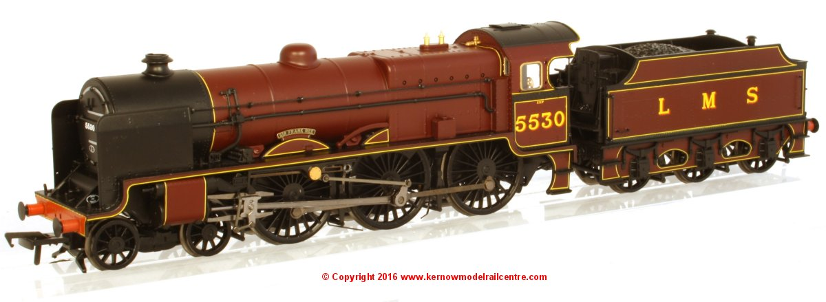 "31-204 Bachmann Patriot Class Steam Locomotive number 5330 named ""Sir Frank Ree"" in LMS Crimson livery"