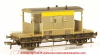 37-533 Bachmann 20 Ton ZTO Brake Van number DB951767 in BR Grey & Yellow (Dutch) livery with weathered finish