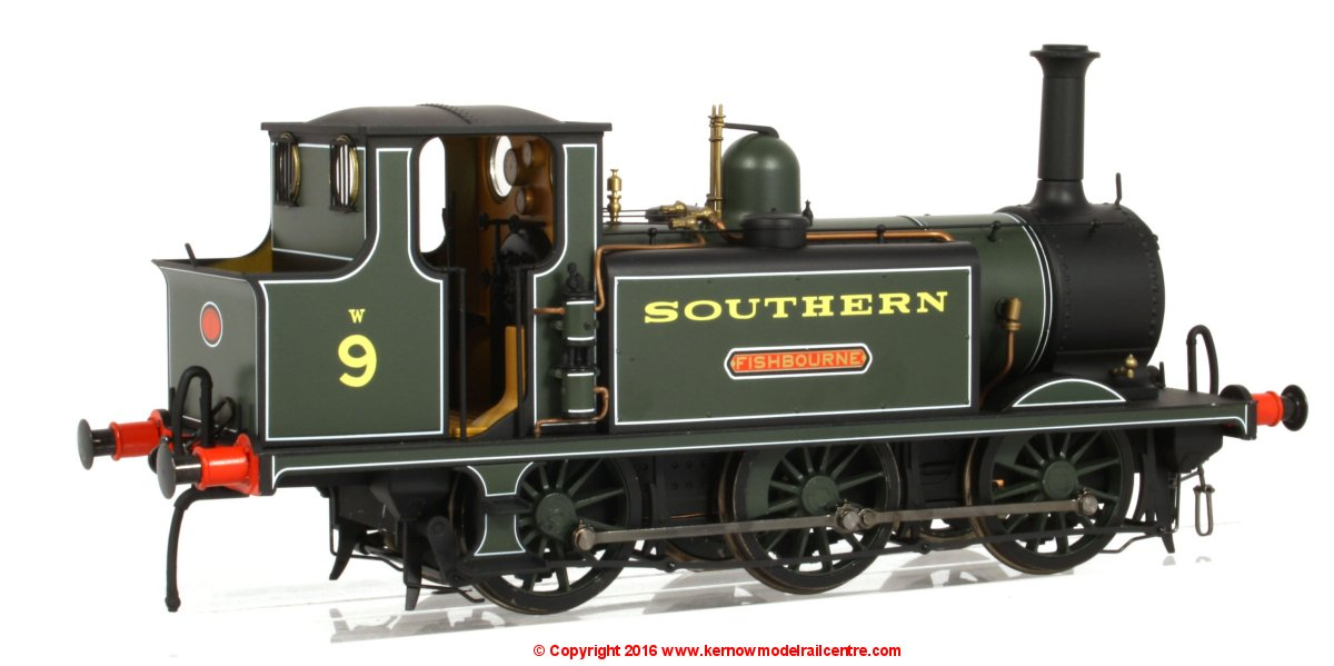 7S-010-010 Dapol A1X Terrier 0-6-0 Steam Locomotive number 9 named