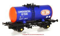 1100 Heljan 4 Wheel B Tank Wagon - Heljan 60th Anniversary Commemorative Model