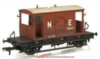 37-529B Bachmann 20 Ton Brake Van number 182897 in LNER Oxide livery with weathered finish