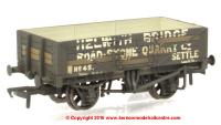 37-039 Bachmann 5 Plank Wagon Steel Floor number 45 - Helwith Bridge Road Stone Quarry with load and weathered finish