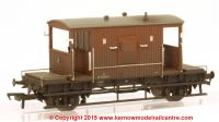 37-537D Bachmann 20 Ton Brake Van number B952830 in BR Bauxite (Late) livery with weathered finish