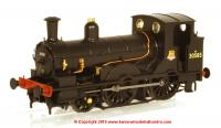 K2058DC DJ Models 2-4-0WT Beattie Well Tank Steam Locomotive number 30585 in BR Black livery with early emblem