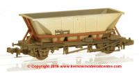 373-900F Graham Farish 46 Tonne glw HAA Hopper Wagon Number 354701 In BR Freight Brown Livery With Weathered Finish