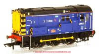 "R3343 Hornby Class 08 Diesel Shunter number 08 822 named ""John"" in First Great Western livery"