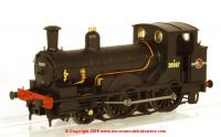 K2056 DJ Models 2-4-0WT Beattie Well Tank Steam Locomotive number 30587 in BR Black livery with late crest