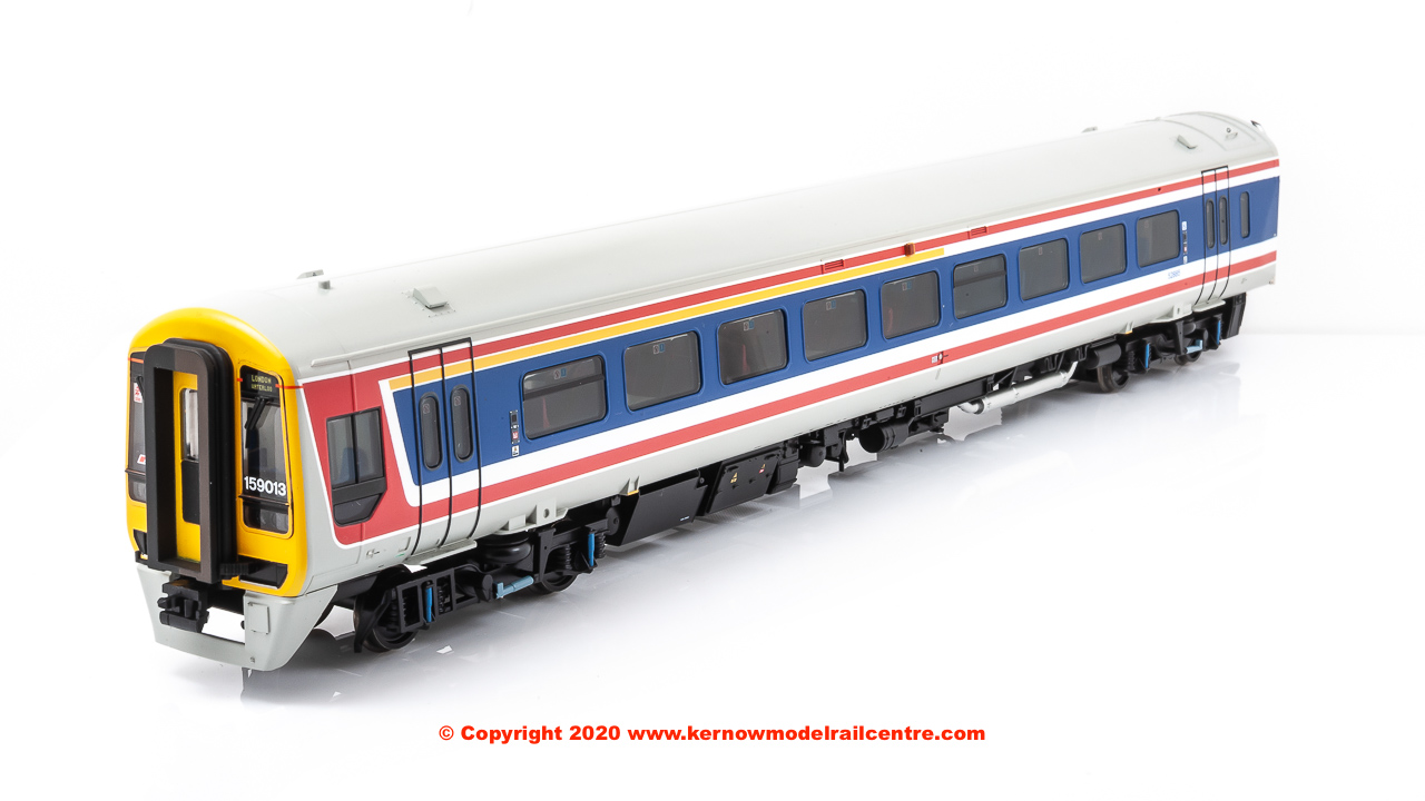 31-520SF Bachmann Class 159 3-Car DMU number 159 013 in Network SouthEast livery - Sound Fitted