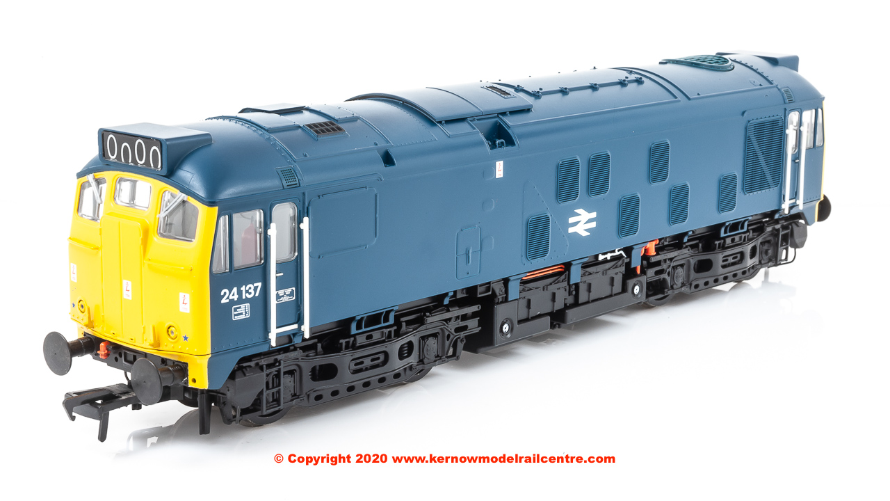 32-442 Bachmann Class 24/1 Diesel Locomotive number 24 137 in BR Blue livery