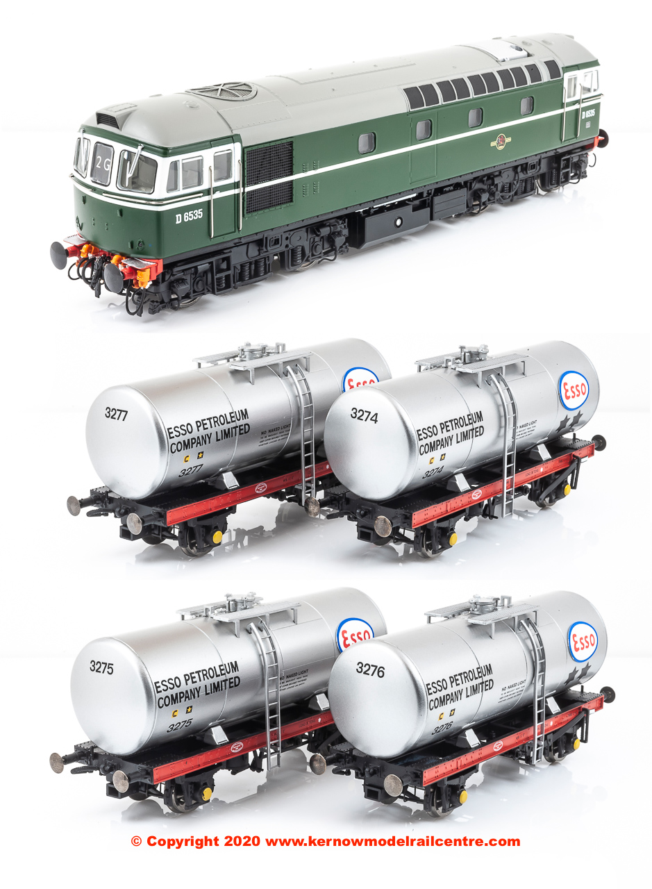 1096 Heljan Fawley Tank Train Pack image