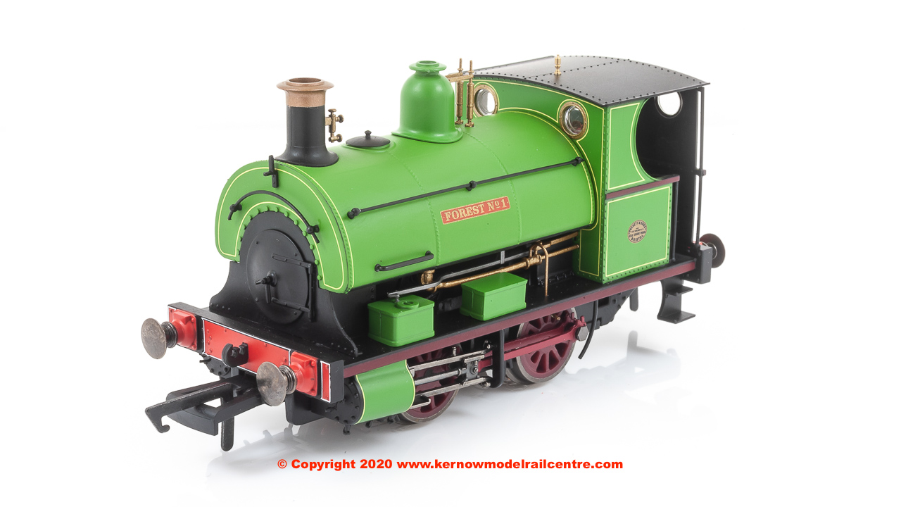 R3680 Hornby Peckett 0-4-0 Forest Green image