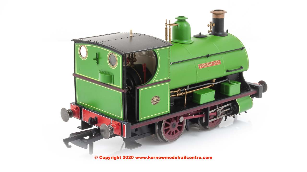 "R3680 Hornby Peckett 0-4-0ST Steam Locomotive ""Forest number 1"" - Charity Colliery"