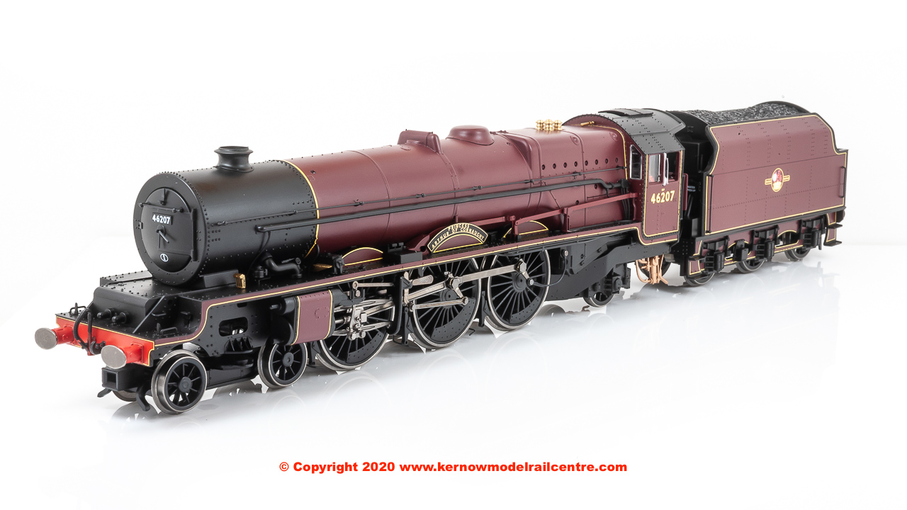"R3713X Hornby Princess Royal 4-6-2 Steam Locomotive number 46207 named ""Princess Arthur of Connaught"" in BR Maroon livery with Late Crest"