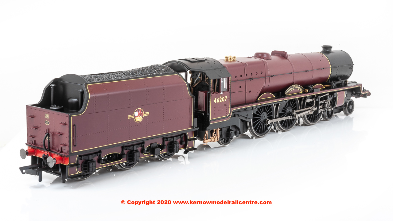 "R3713 Hornby Princess Royal 4-6-2 Steam Locomotive number 46207 named ""Princess Arthur of Connaught"" in BR Maroon livery with Late Crest"