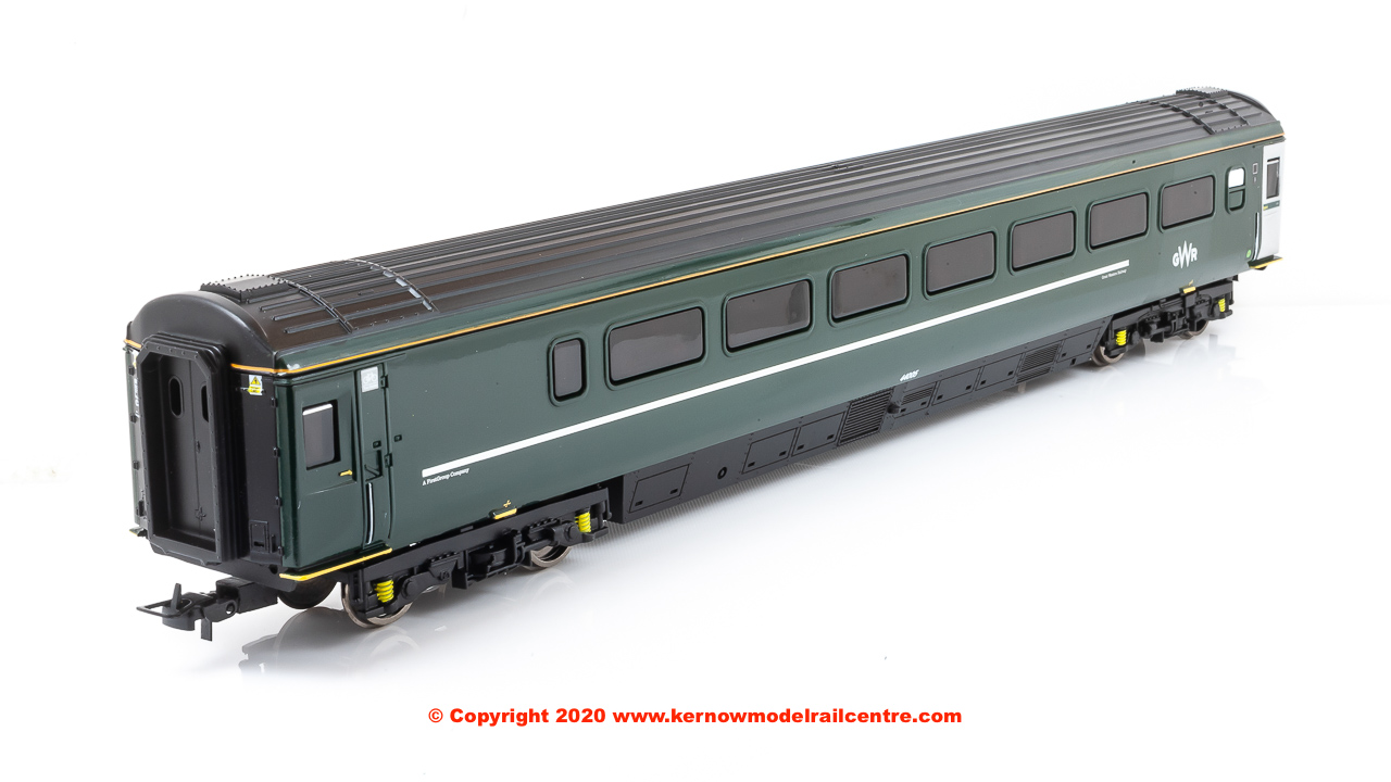 R4780B Hornby Mk3 Trailer Guard Standard TGS Coach number 44005 in GWR Green livery