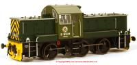 1409 Heljan Class 14 Diesel Shunter number D9531 in BR Green livery