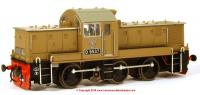 1410 Heljan Class 14 Diesel Shunter number D9537 in Desert Sand livery as preserved