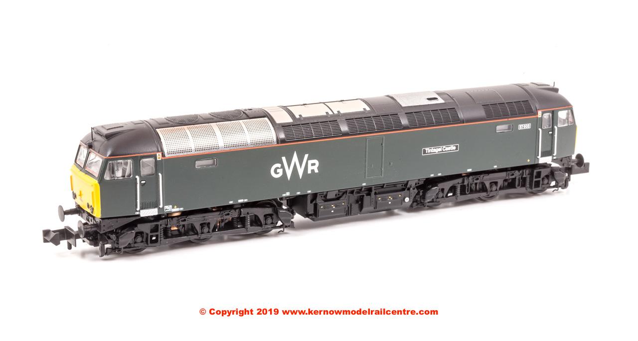 371-660 Graham Farish Class 57 GWR Green Image