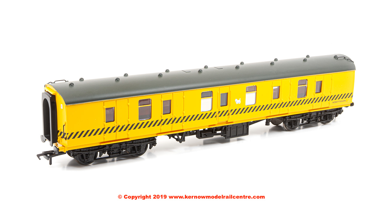39-175W Bachmann BR Mk1 BG Brake Gangwayed QRV number ADB977155 BR Departmental Yellow with Eastfield Terrier branding