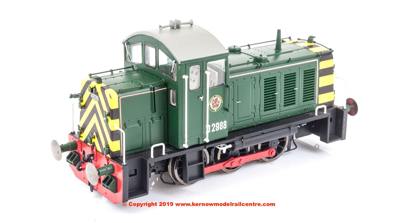 2905 Heljan Class 07 Diesel Shunter Image