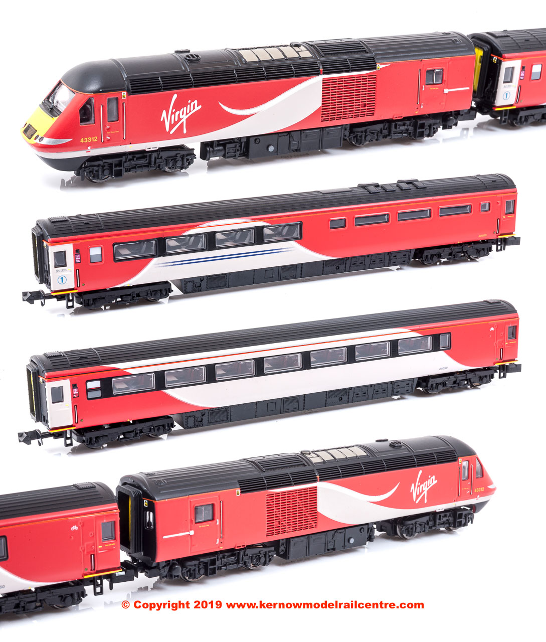 2D-019-007 Dapol Class 43 HST Virgin East Coast Book Set