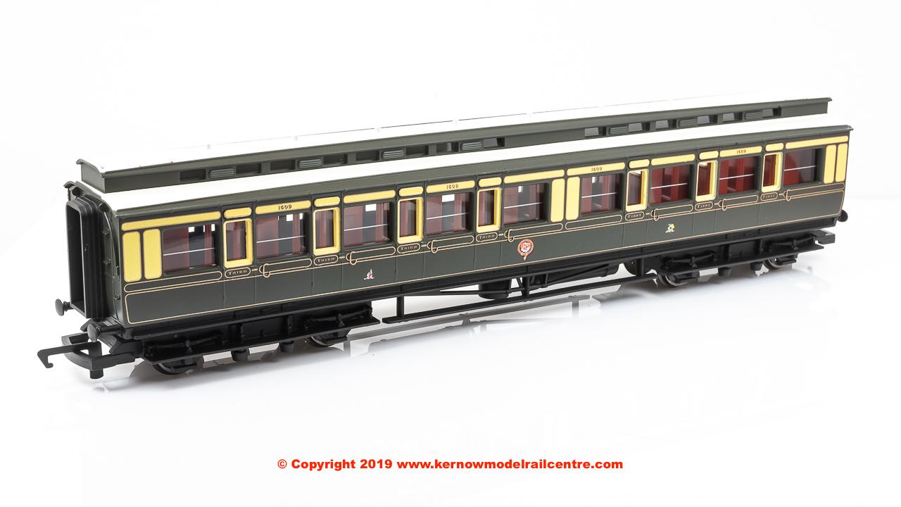R4899 Hornby GWR C15 Clerestory 3rd Coach Image