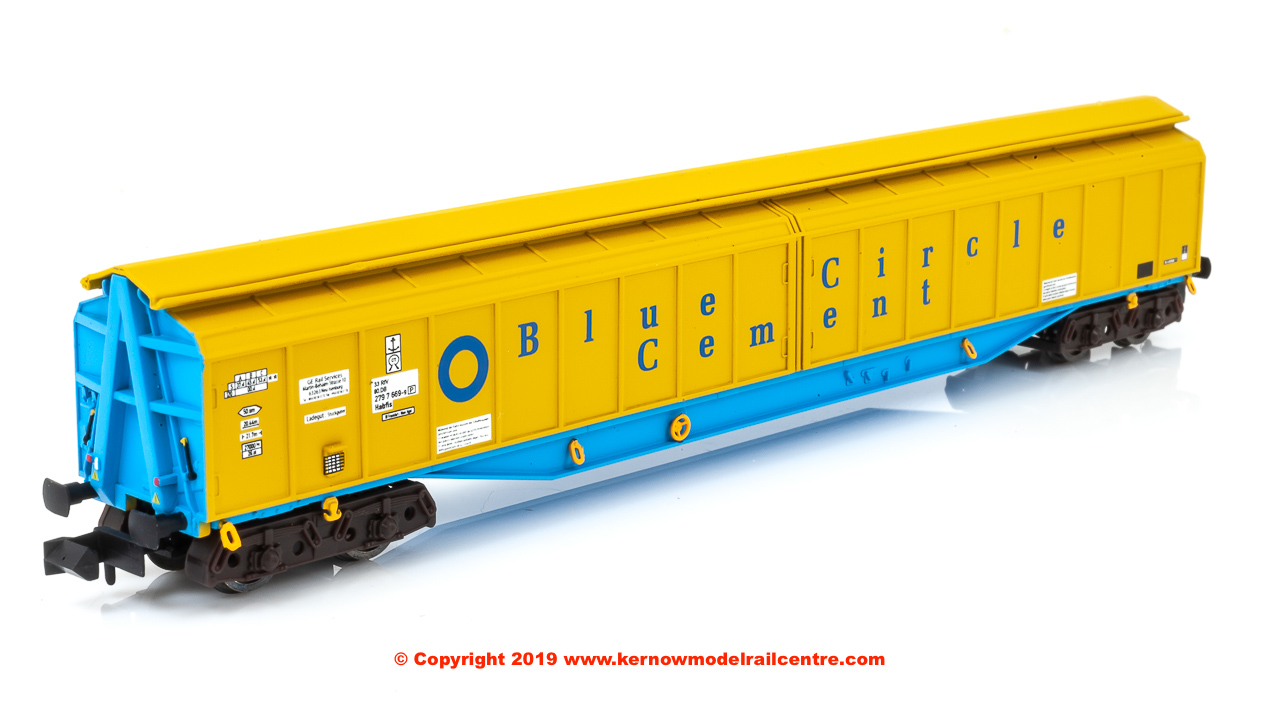2F-022-009 Dapol Ferry Wagon Blue Circle 33 80 279 7669-9
