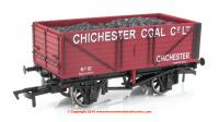GM4410205 Dapol 7 Plank Wagon number 10 - Chichester Coal Co Ltd