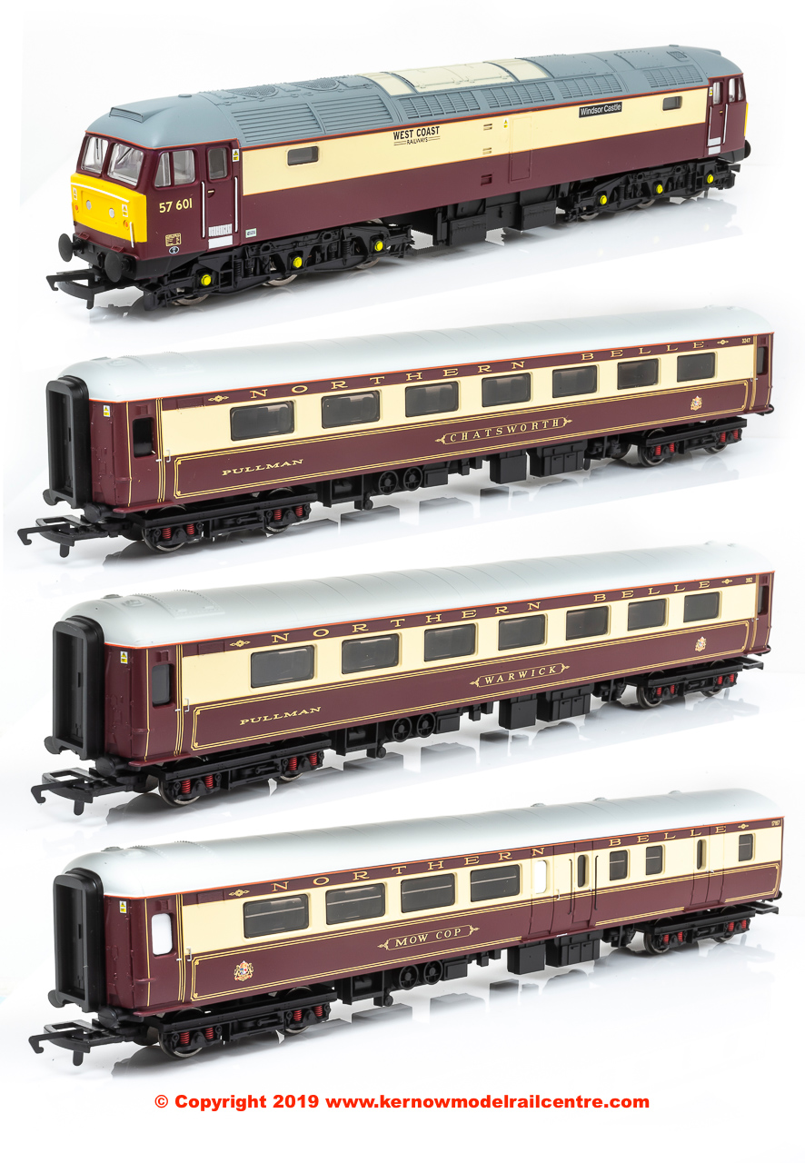 R3697 Hornby Northern Belle Train Pack