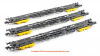 22303 Revolution Trains KFA Network Rail, GPS Bogies (Pack of 3)