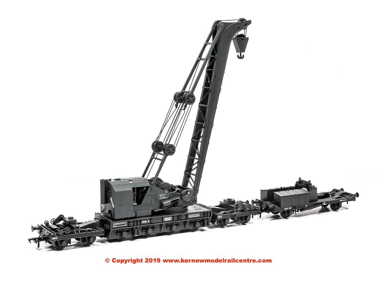38-800 Bachmann Ransomes and Rapier Crane Image