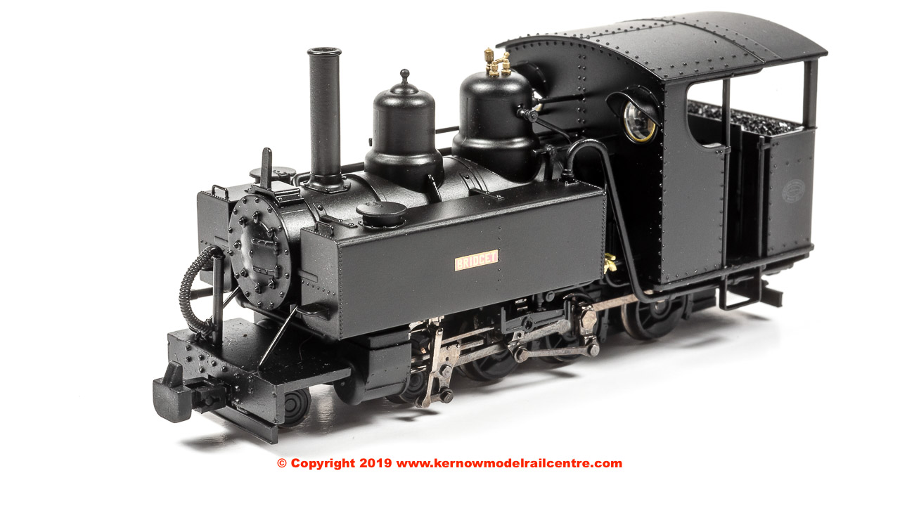 391-028A Bachmann Baldwin Class 10-12-D Steam Locomotive 'Bridget' Ashover Black
