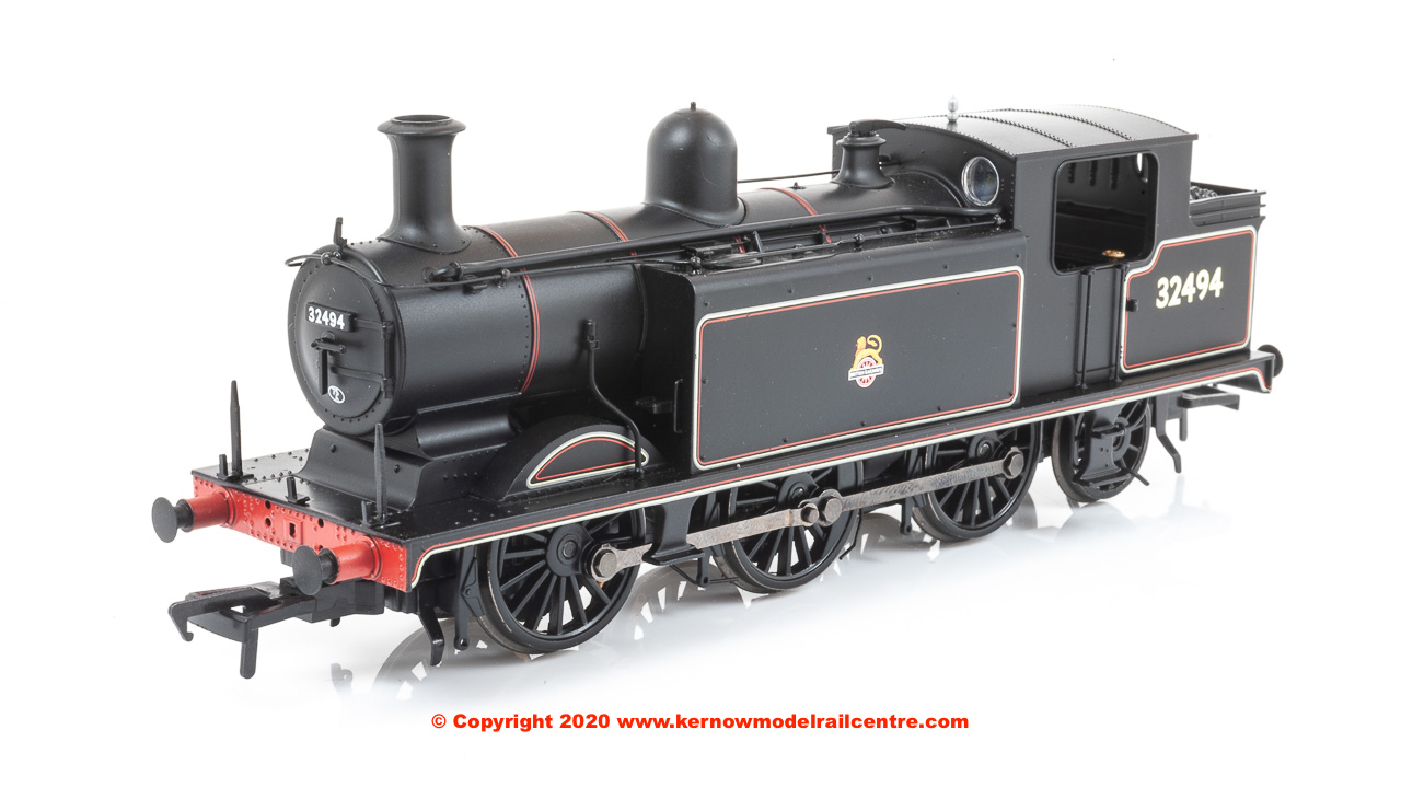 35-079 WSL Bachmann Class E4 0-6-2 32494 BR Lined Black image