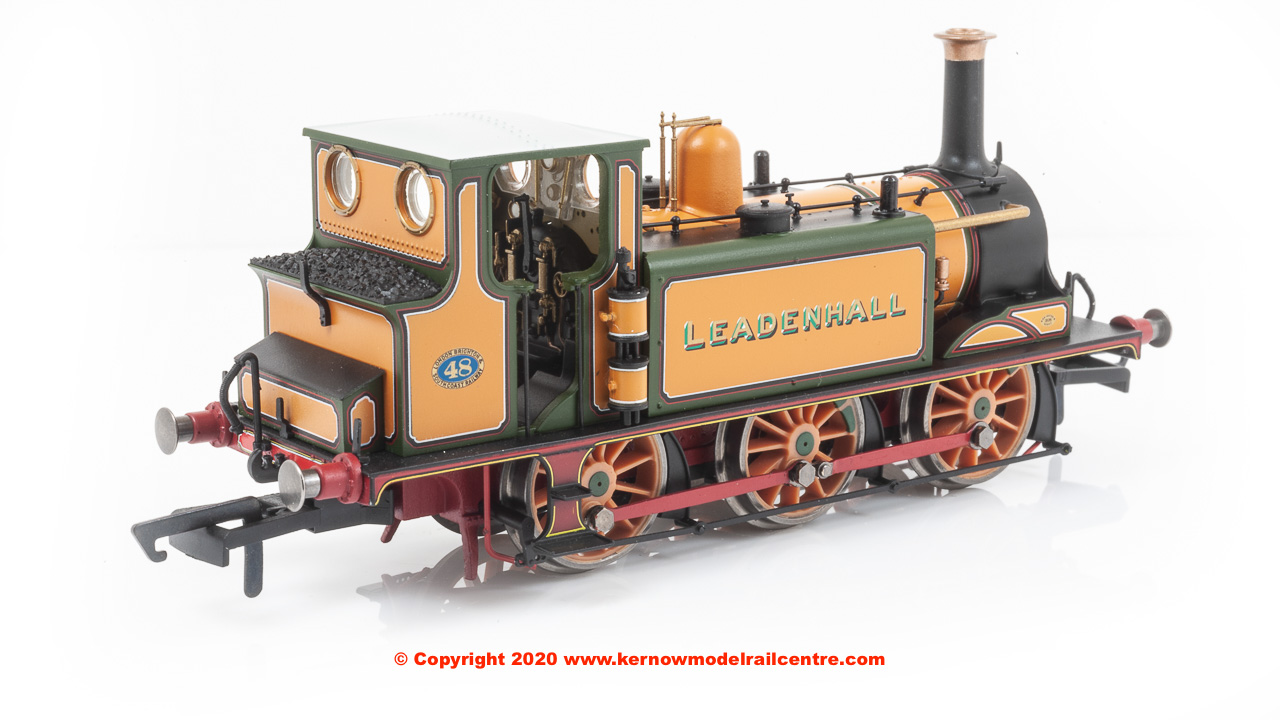 "R3811 Hornby Terrier 0-6-0T Steam Locomotive number 48 named ""Leadenhall"" in LBSCR livery"