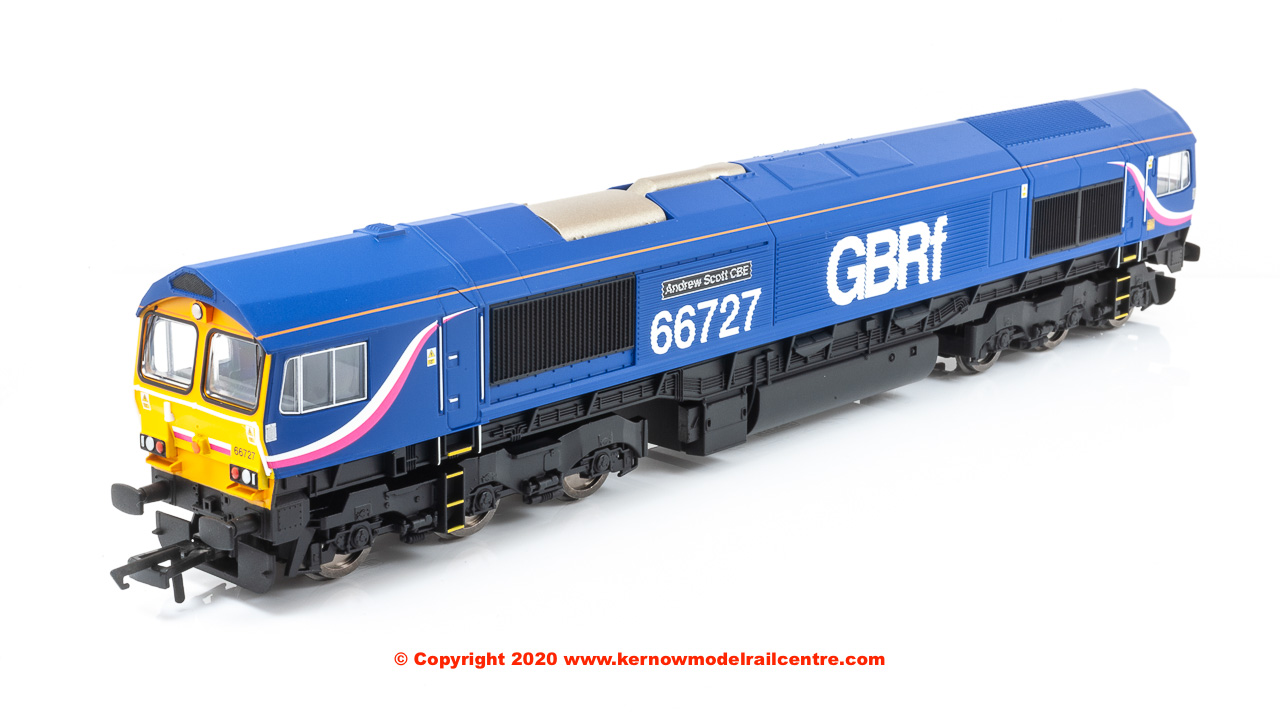 R3881 Hornby Class 66 GBRf Image