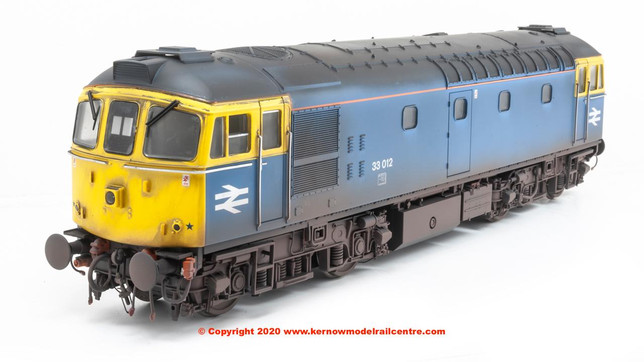 3400 Heljan Class 33 Diesel 33 012 BR Blue image